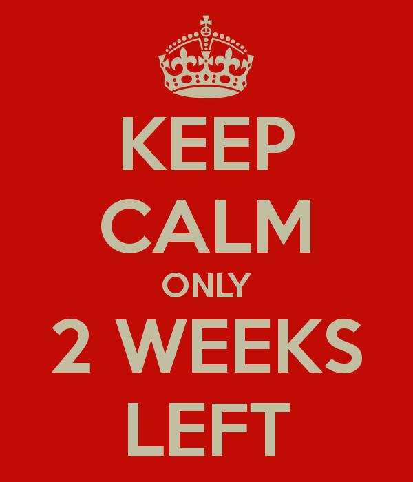 2 weeks
