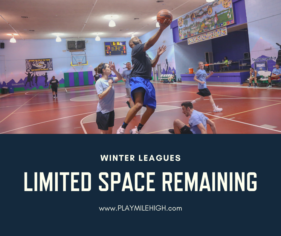 Play Mile High leagues filling up
